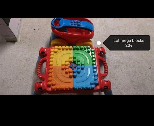 Lot mega blocks