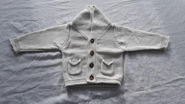 Gilet bébé garçon 3 mois