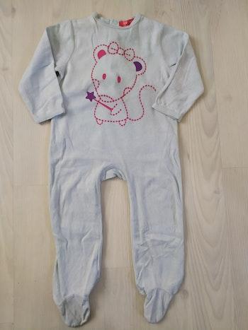 Pyjama bleu clair tissaia 24m