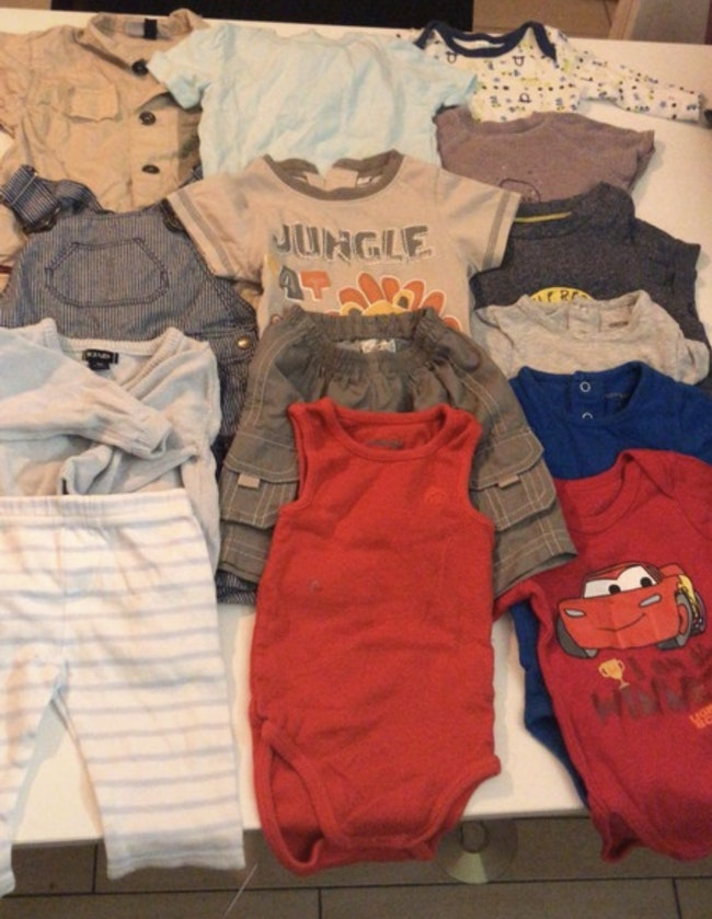Lot vêtements garçon été 3 mois