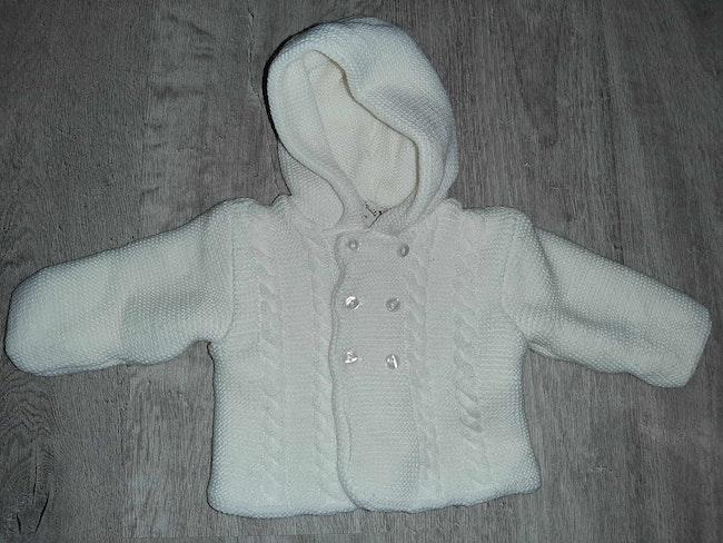 Manteau 3 mois neuf