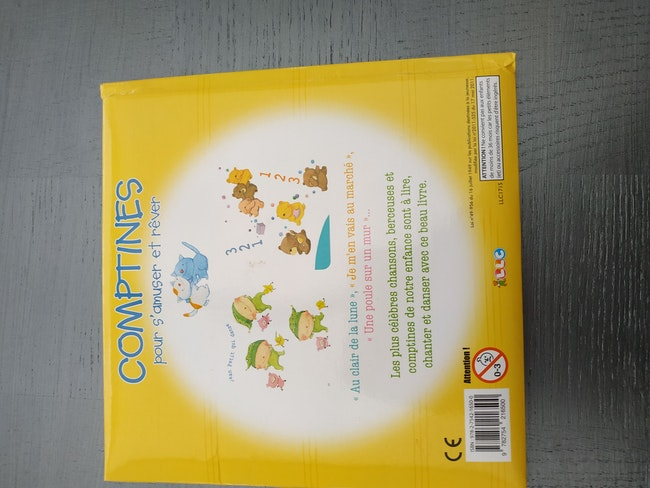 Livre comptines+cd