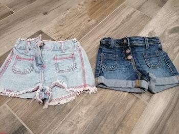 Lot de 2 shorts taille 3 ans