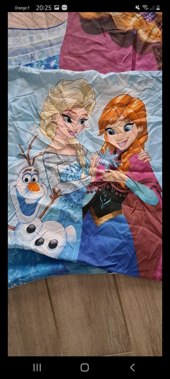 Parure de lit reine des neiges