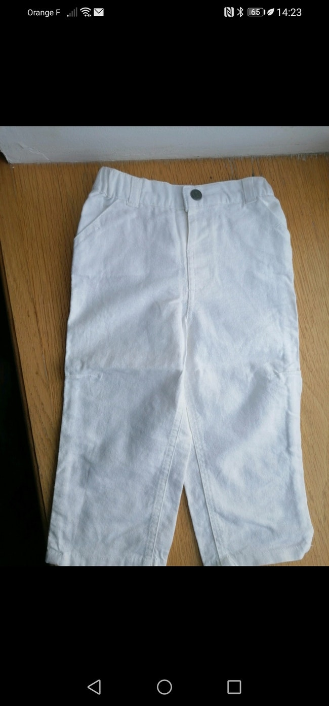 Pantalon lin 18 mois