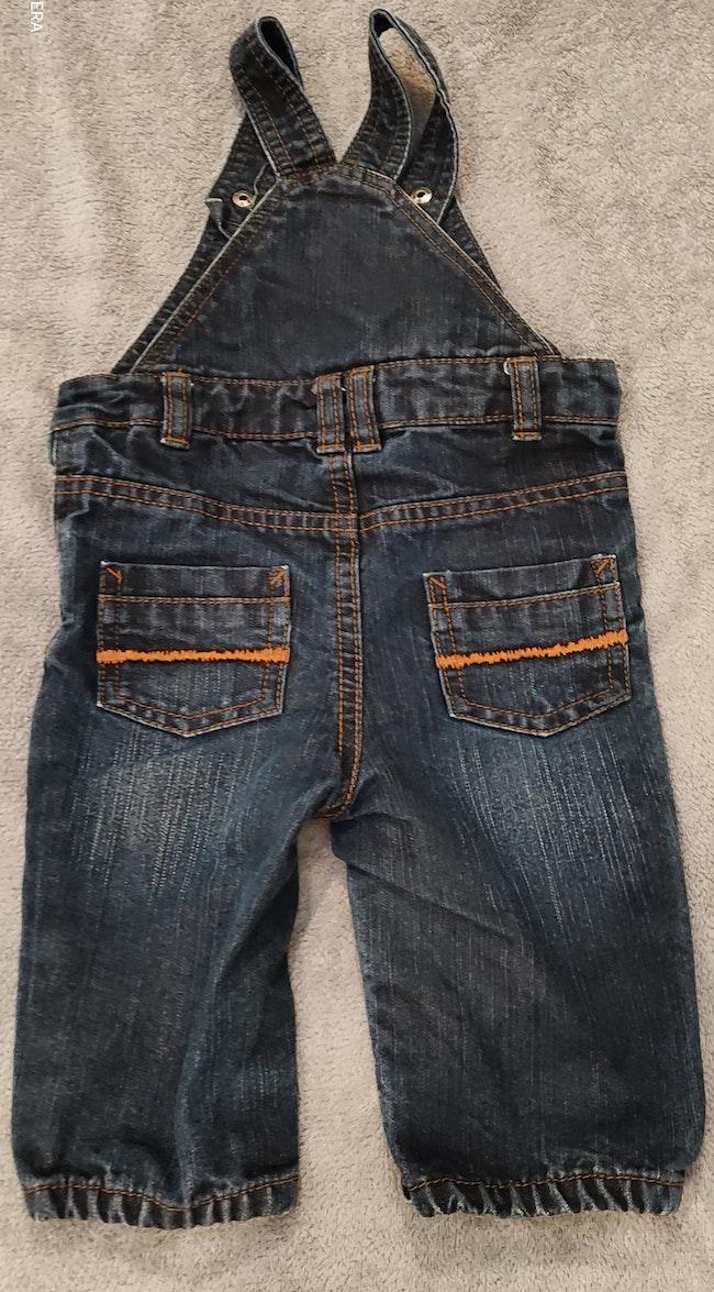 Salopette en jeans garçons
