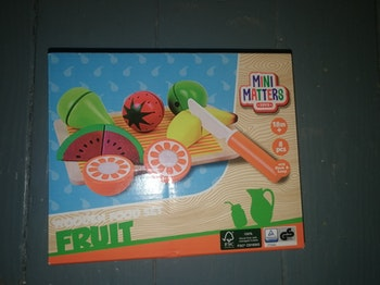 Set de fruit en bois neuf