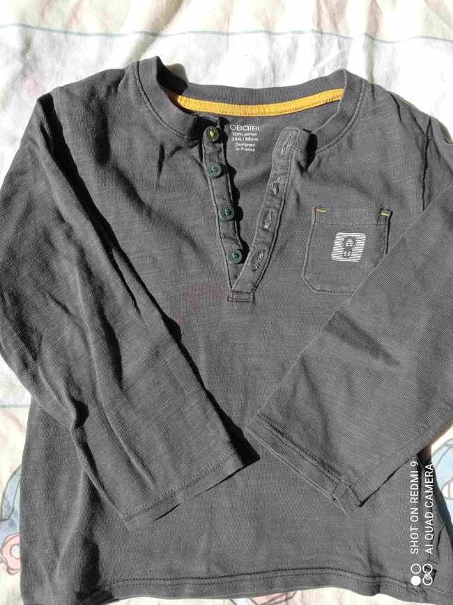T-shirt Okaïdi 23 mois