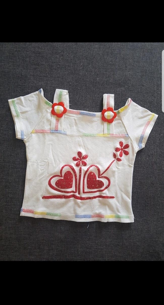 Tee-shirt fille 2 ans