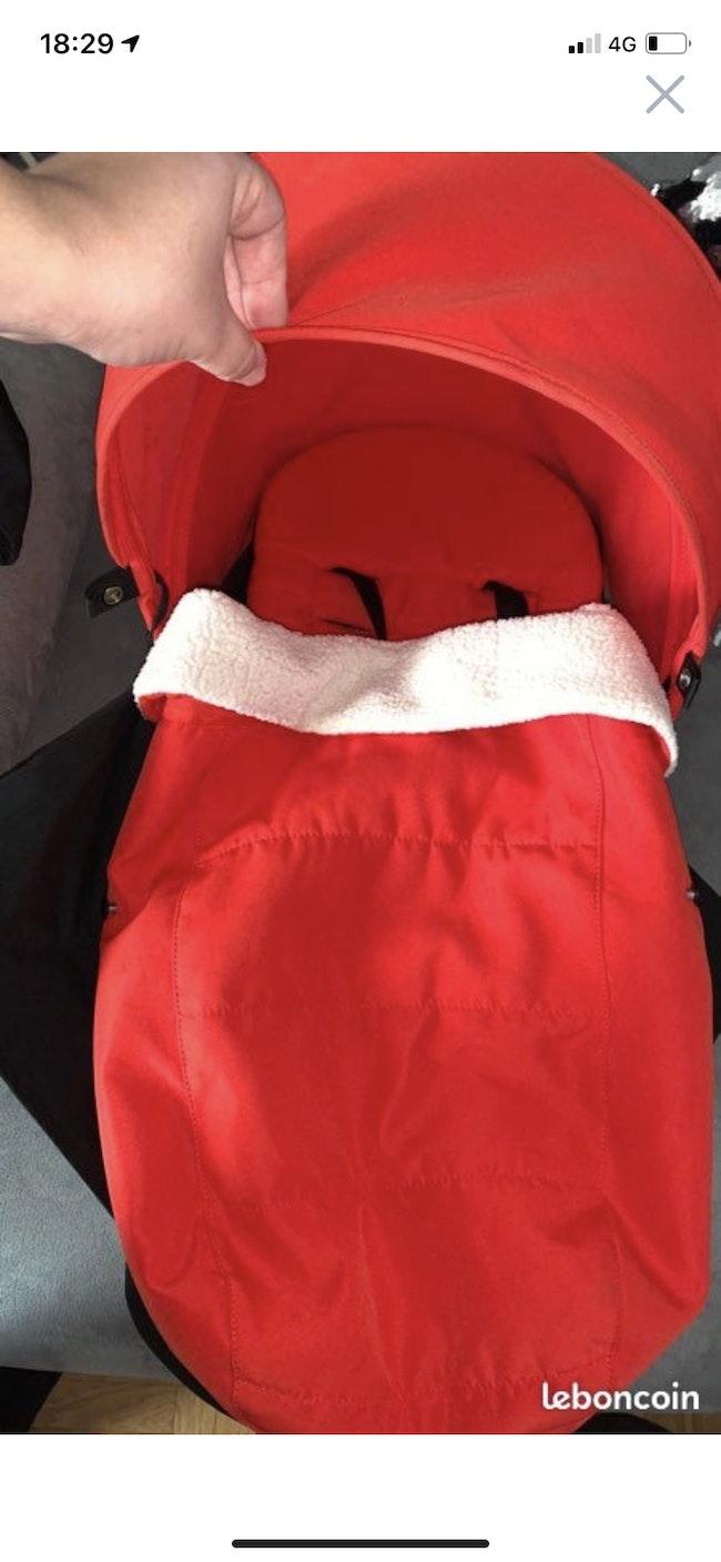 Pack 0+ YOYO Babyzen rouge