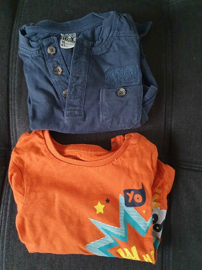 Tee-shirts ML 18 mois