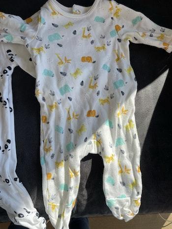 Lot 3 pyjamas légers