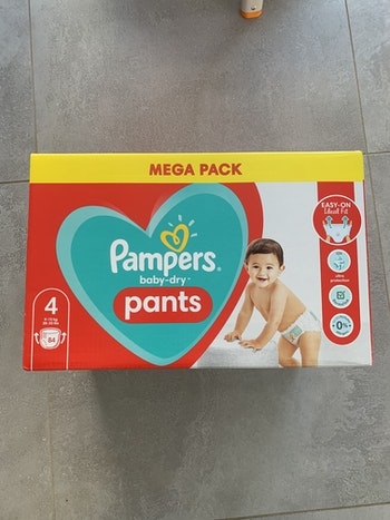 Pampers pants T4