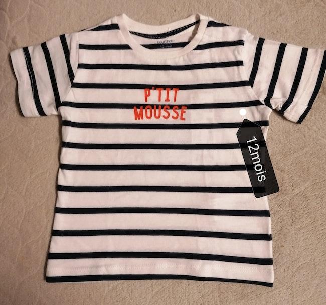 T. Shirts marin bout'chou
