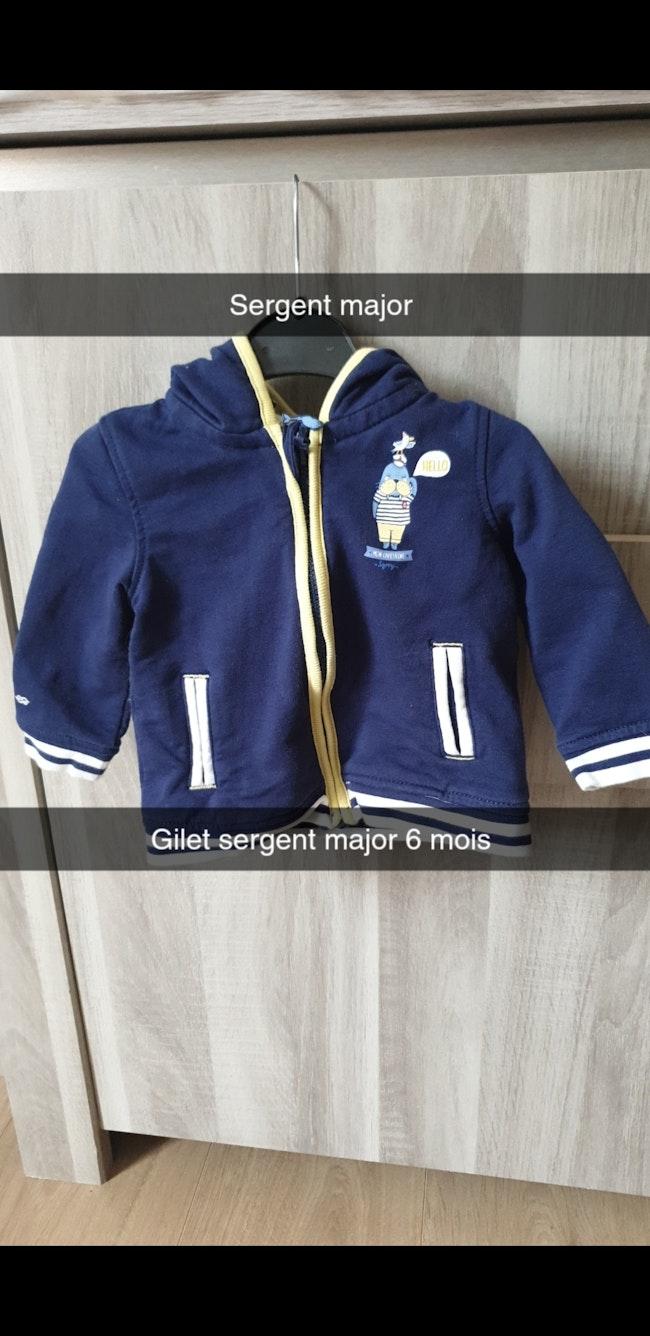 Gilet 6 mois sergent-major