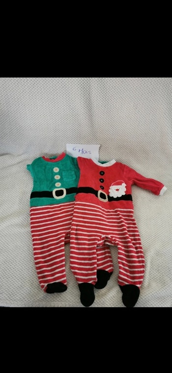 Lot pyjama de Noël