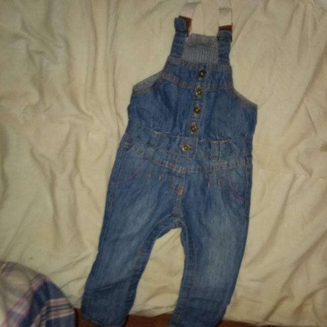 Salopette en jean 6 mois de marque tape à l'oeil