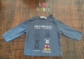 Tee-shirt Mickey 6mois