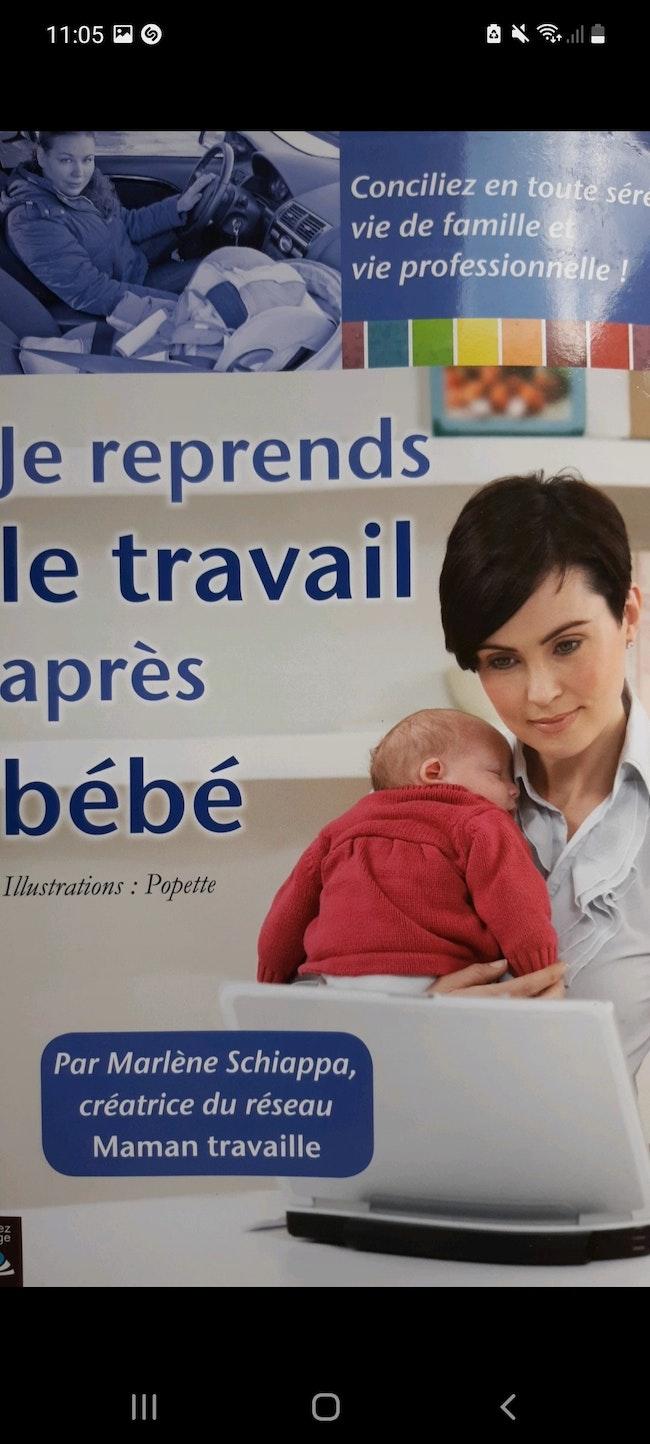Je reprends le travail après bébé