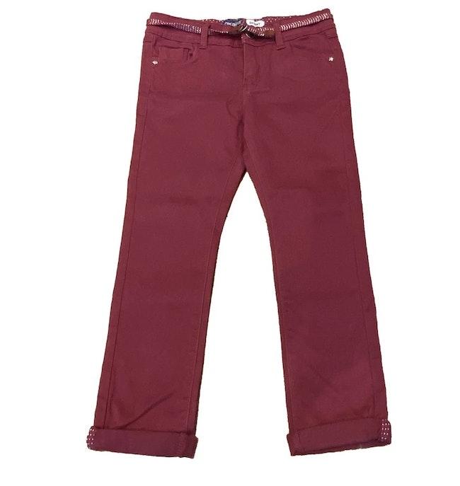 Pantalon bordeaux