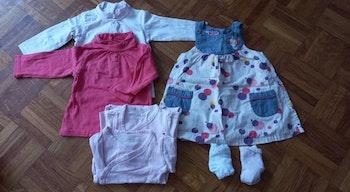 Lot vêtements bébé fille 0/3 ans