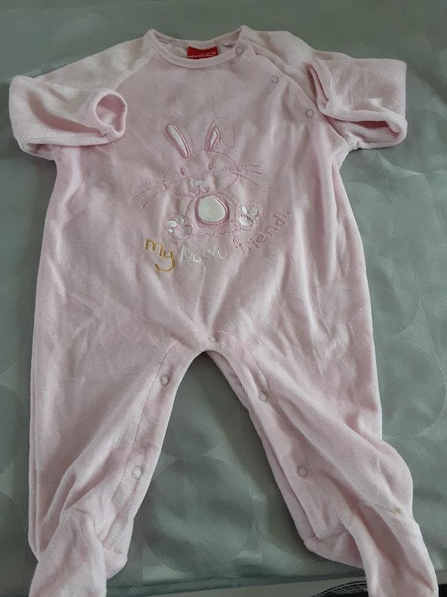 Pyjama rose 24 mois