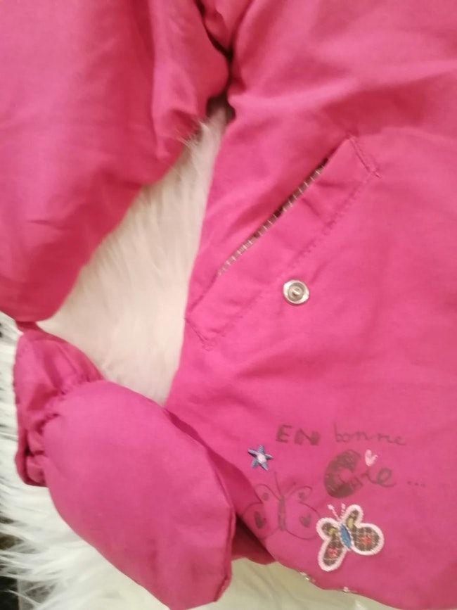 Manteau bébé fille 12 mois la compagnie des petits.