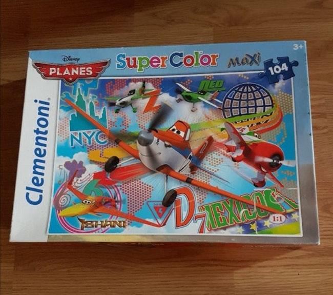 Puzzle 104 pieces Planes Disney