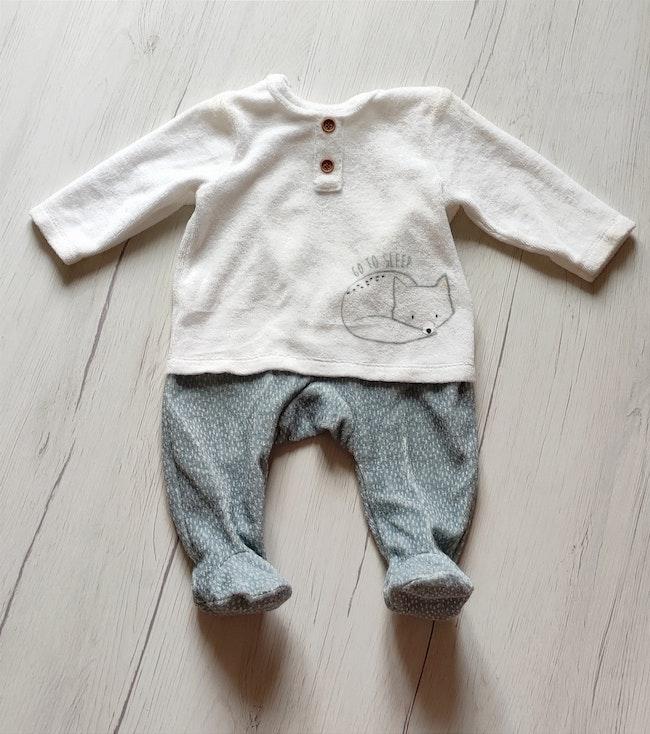 Pyjama velours bébé