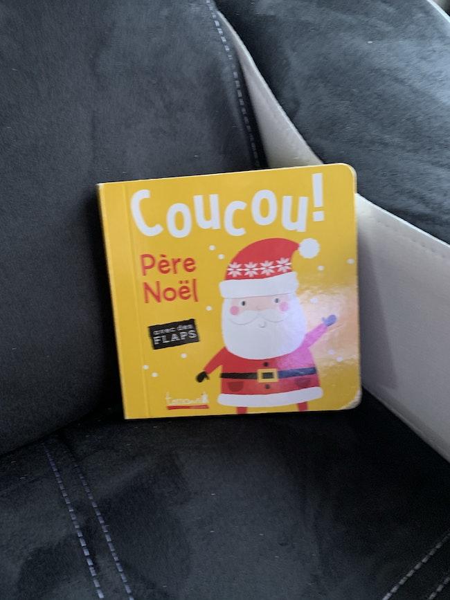Livre Coucou père noel