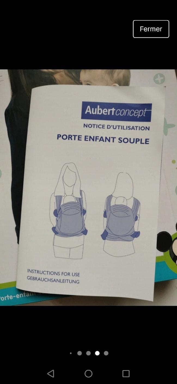 Porte bébé / écharpe de portage