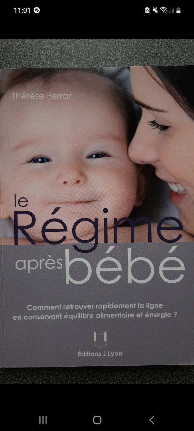 Livre le Régime après bébé