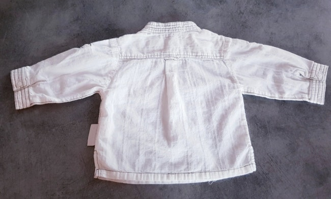 Chemise 6 mois tape à l'oeil