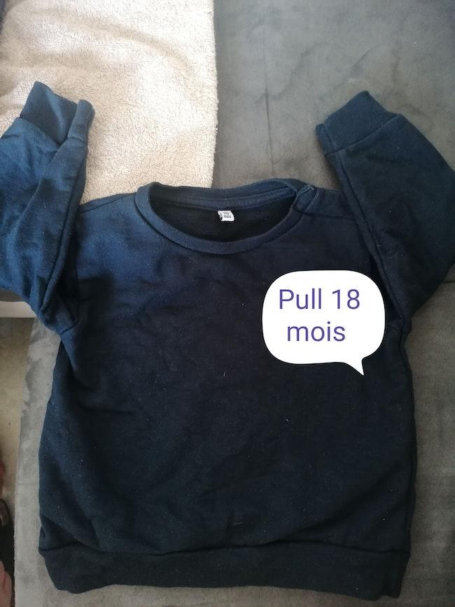 Pull 18 mois