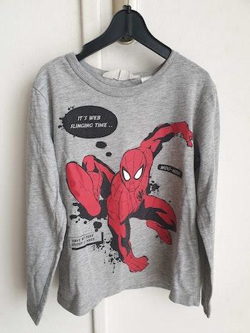 Polo spiderman 5/6ans