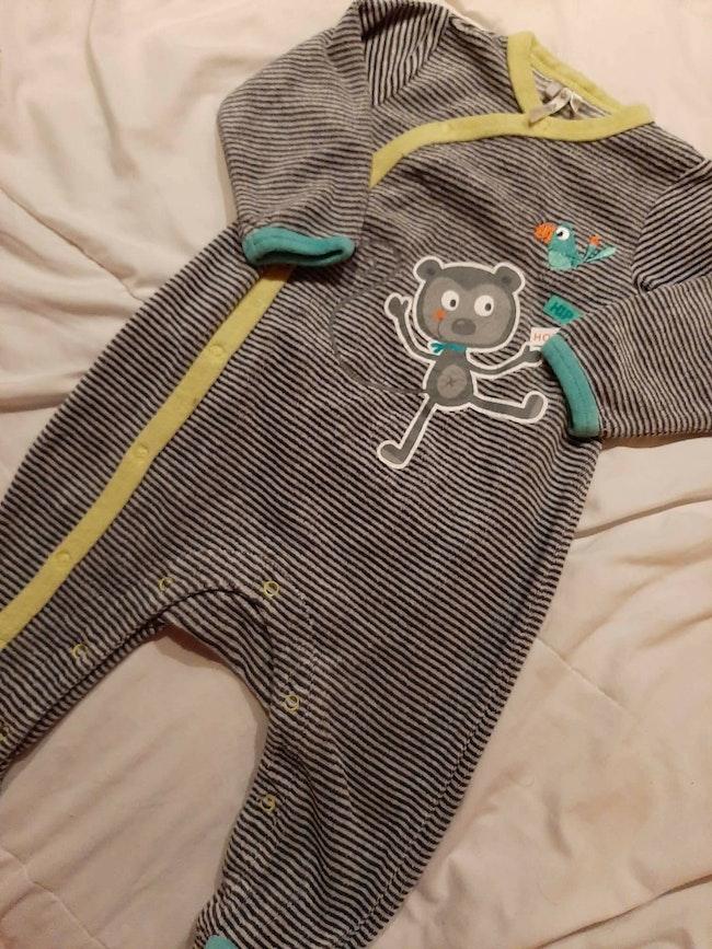 Pyjama garçon rayé