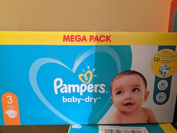 Couches taille 3 pampers