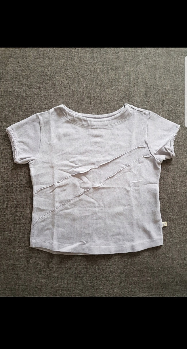 Tee-shirt manches courtes fille 24 mois
