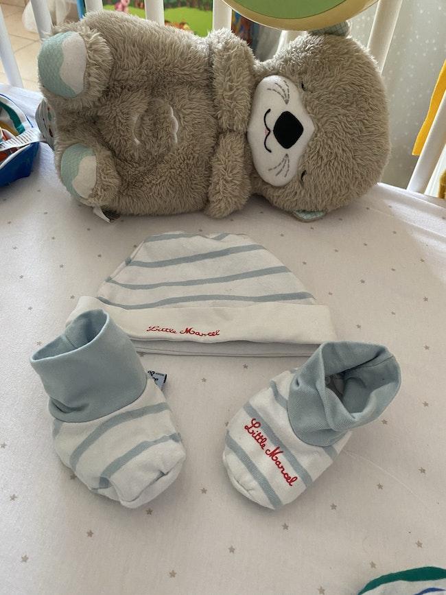 Bonnet et chaussons