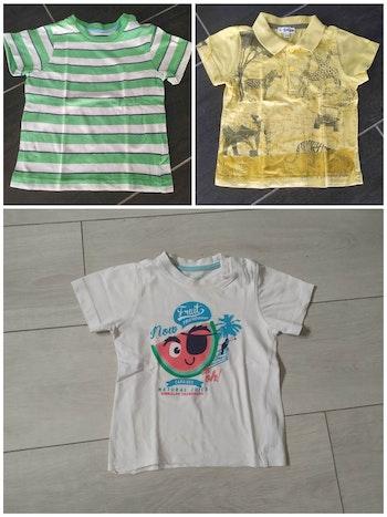 Lot 3 tee shirt kimbaloo