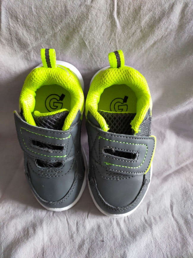 Baskets bébé garçon