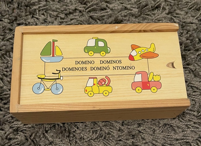 Jeu de Domino complet en bois