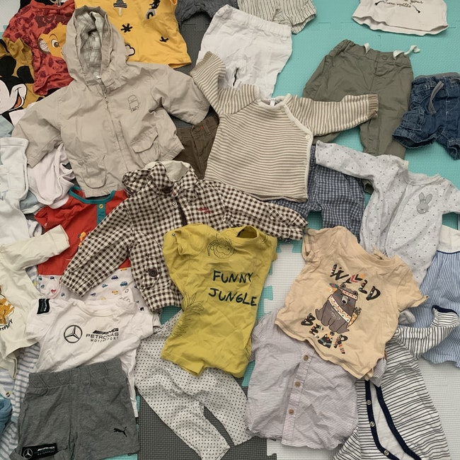 Lot vêtements bébé 0-6 mois