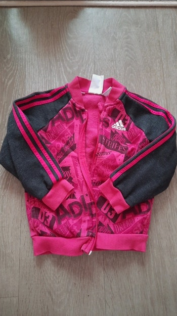 Veste Adidas fille + pantalon offert ensemble
