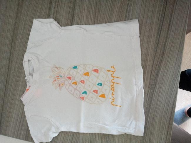 Lot t-shirt manches courtes