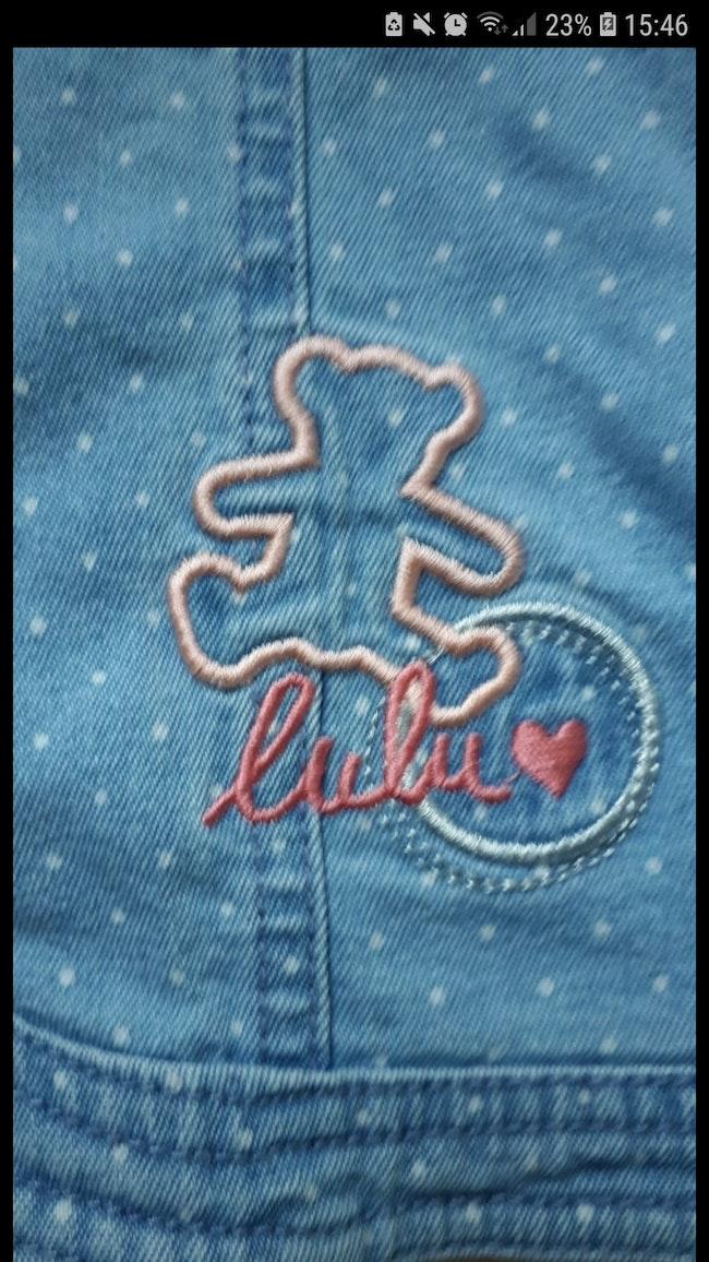 Veste en jean 2 ans Lulu castagnette