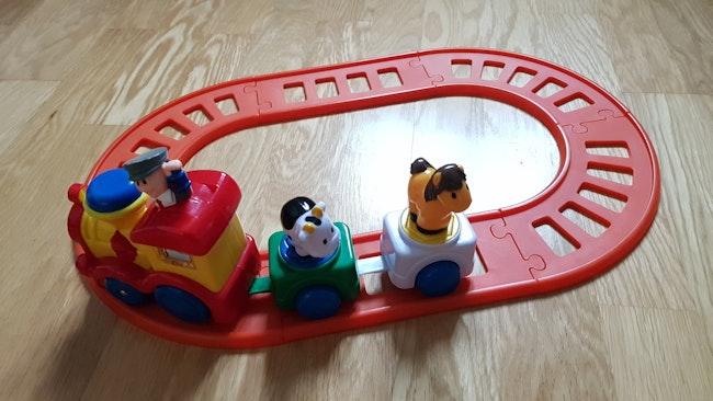Train animaux