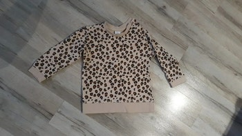 Pull léopard fille
