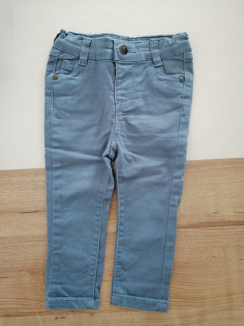 Pantalon slip bleu clair tape à l'oeil