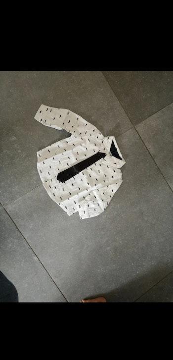 Chemise et cravate 6 mois